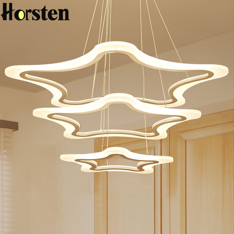 Creative Modern LED Pendant Lights Lamp Acrylic Metal 3 Rings Pendant Light For Living Room Dining Room Restaurant Hanging Light 12w dimmable cob led track lighting ac85v 265v aluminum shell led rail ceiling light spotlight ac110v or ac220v led track lamp