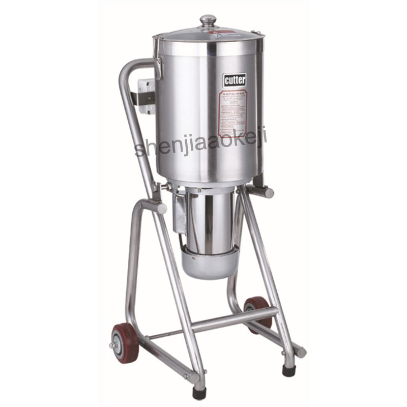 Commercial Meat Vegetables Fritter Cutter Slicer Stainless Steel Large food chopper  Food Processor Meat Shredder 32L 220V 1500WCommercial Meat Vegetables Fritter Cutter Slicer Stainless Steel Large food chopper  Food Processor Meat Shredder 32L 220V 1500W