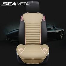 Автомобильный чехол для сиденья автомобиля набор искусственная кожа подушка универсальный протектор переднее кресло четыре сезона поддержка интерьерные аксессуары в автомобиле