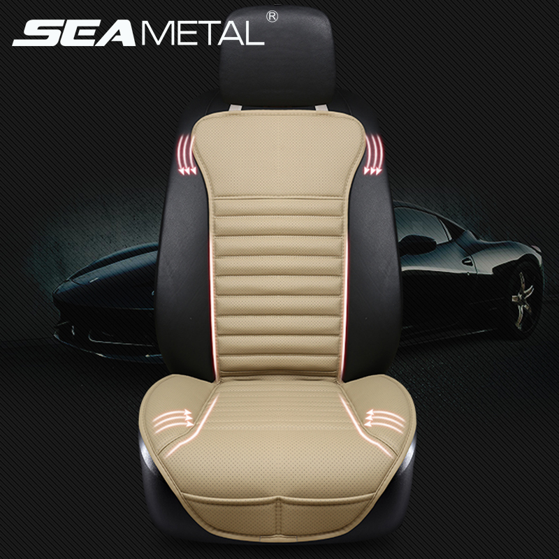 Automobile Seat Cover Car Set PU Leather Cushion Universal Protector Front Chair Four Season Support Interior Accessories In Car