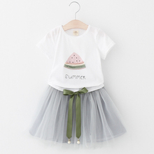 Girl's Cute Cotton Clothing Sets