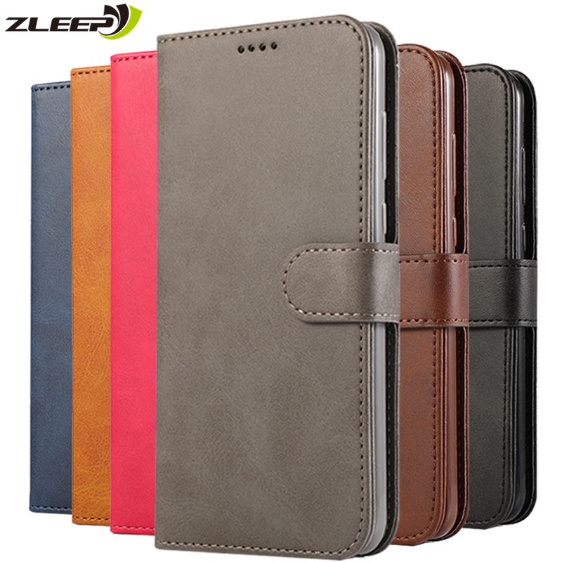 <font><b>Flip</b></font> Business Vintage <font><b>Case</b></font> Leather Wallet For <font><b>Samsung</b></font> Galaxy J3 <font><b>J5</b></font> J7 <font><b>2017</b></font> EU J4 Plus J6 2018 Card Holder Phone Cover Coque Etui image