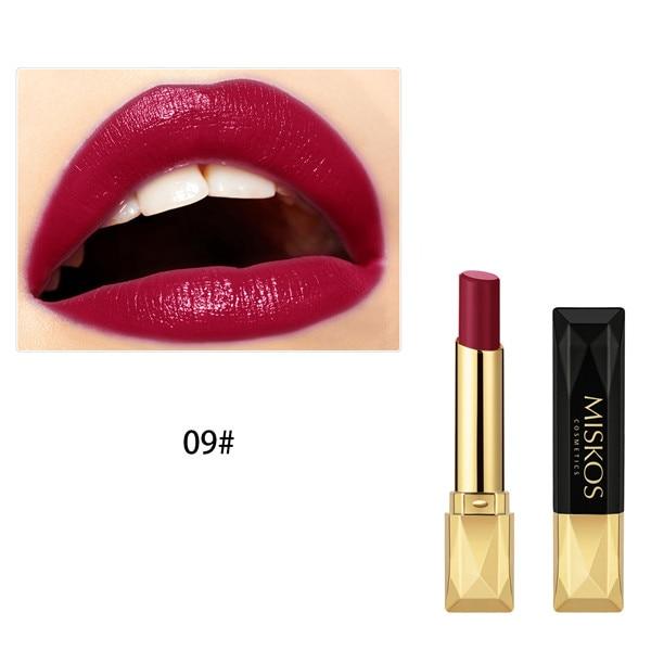 Beauty Matte Lipstick Long Lasting Cosmetics Maquiagem Women Makeup Red Batom Pigments Waterproof Lip Stick Pintalabios Mate 32