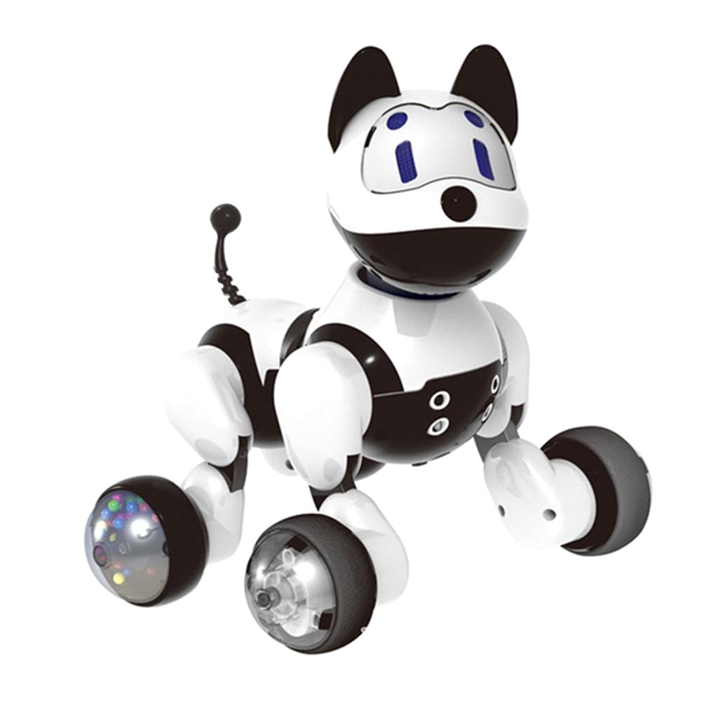 Elettronico Animale Domestico della Famiglia-Interattivo Intelligente Cucciolo di Cane/Gatto del Gattino Divertente di Riconoscimento Vocale Robot Giocattolo Per I Bambini