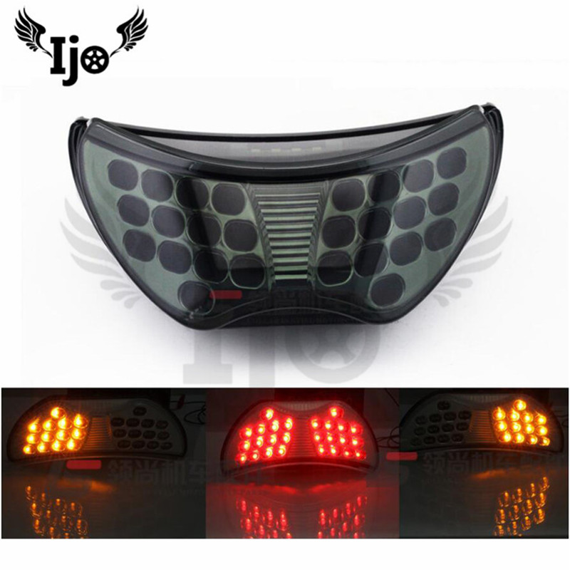 moto tail lights LED for honda shadow jazz dio grom steed CBR CBR600 F4 CBR900R 99 year motorcycle accessories brake taillights Honda Grom
