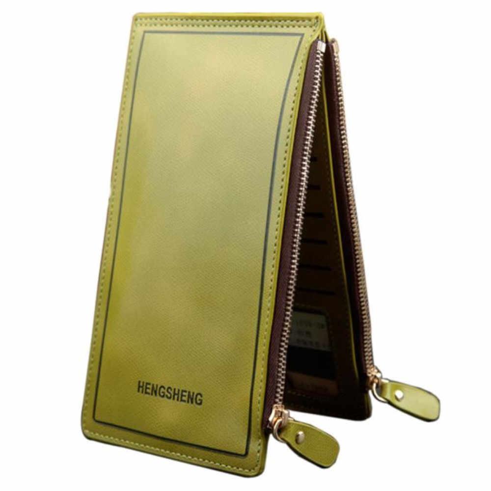 2019 nova chegada carteira feminina longo carteira com zíper bolso de alta qualidade embreagem bifold magro bolsa clipe de dinheiro cartão de crédito carteira # lr2