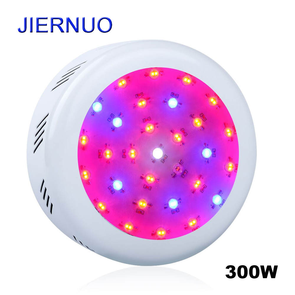 300W Double Chip UFO LED Grow Light Red Blue White UV IR Full Spectrum Led Lamp For Indoor Plants and Flower With High Yield AE стоимость