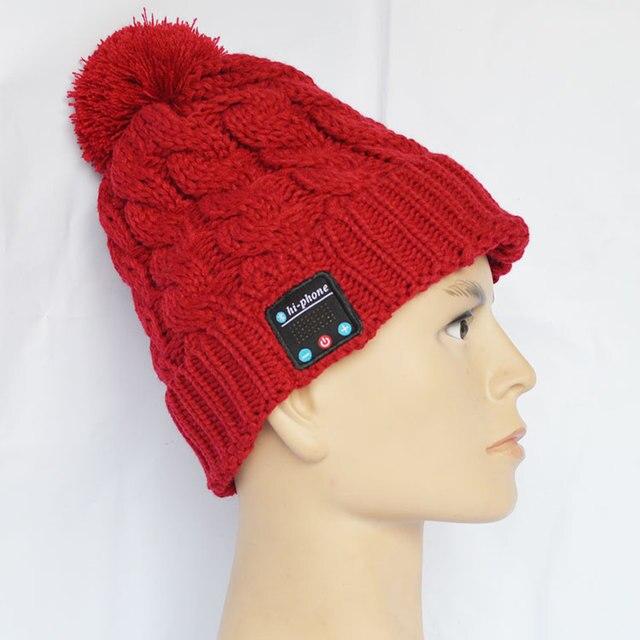 High quality wireless bluetooth headphone beanie, bluetooth winter headphone hat   wholesale.