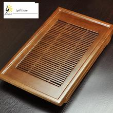 Free Shipping Log Wood Tea Table Set Kung Fu Tray Specials Tea-sea Drawer Drainage Tea-pool Chinese Gongfu Plate High Quality
