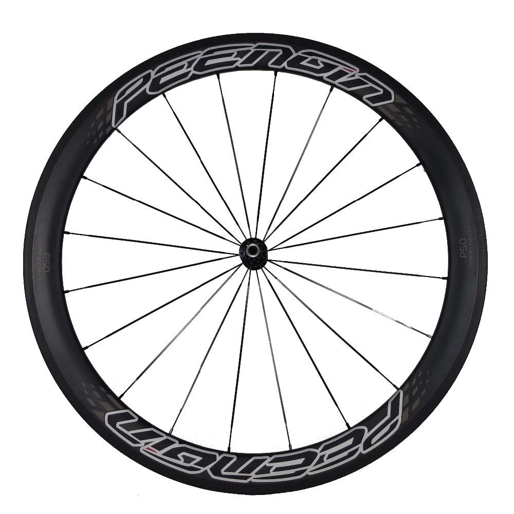 Velocity Full Carbon 700C Mischradsatz 23mm Breite 38mm + 50mm Tiefe - Radfahren - Foto 5