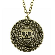 WYSIWYG 38mm Vintage Skull Pendant Necklace Jewelry Accessories Fashion Necklace Gift Dropshipping 2018(China)