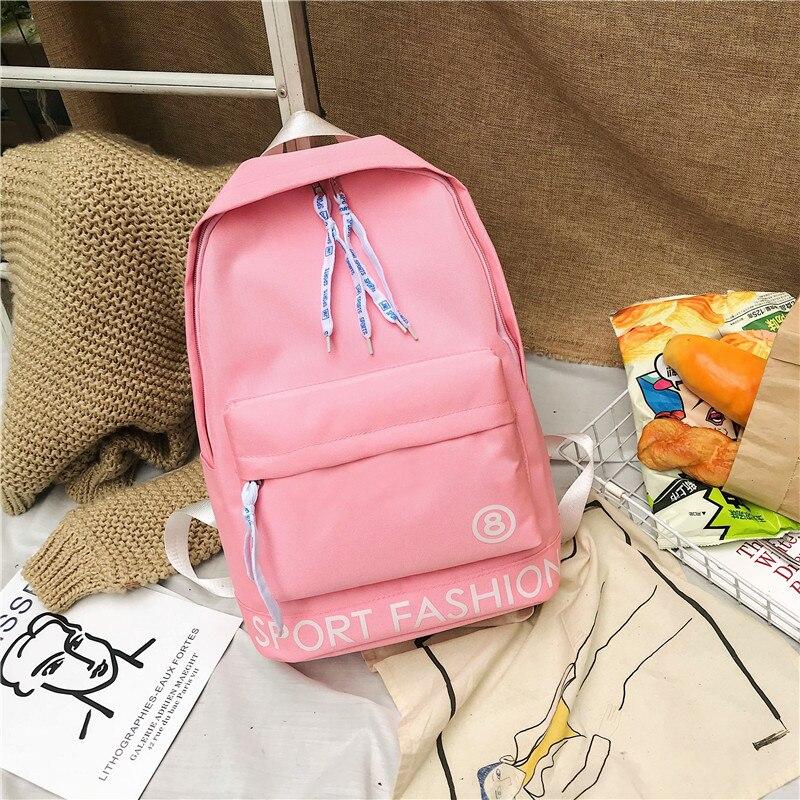 estudantes do ensino médio bookbags