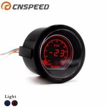 "CNSPEED 2"" 52mm Car EVO Digital Turbo Boost Gauge Psi Meter With Sensor Turbo Boost Meter Turbo Pressure Boost gauge YC101031"