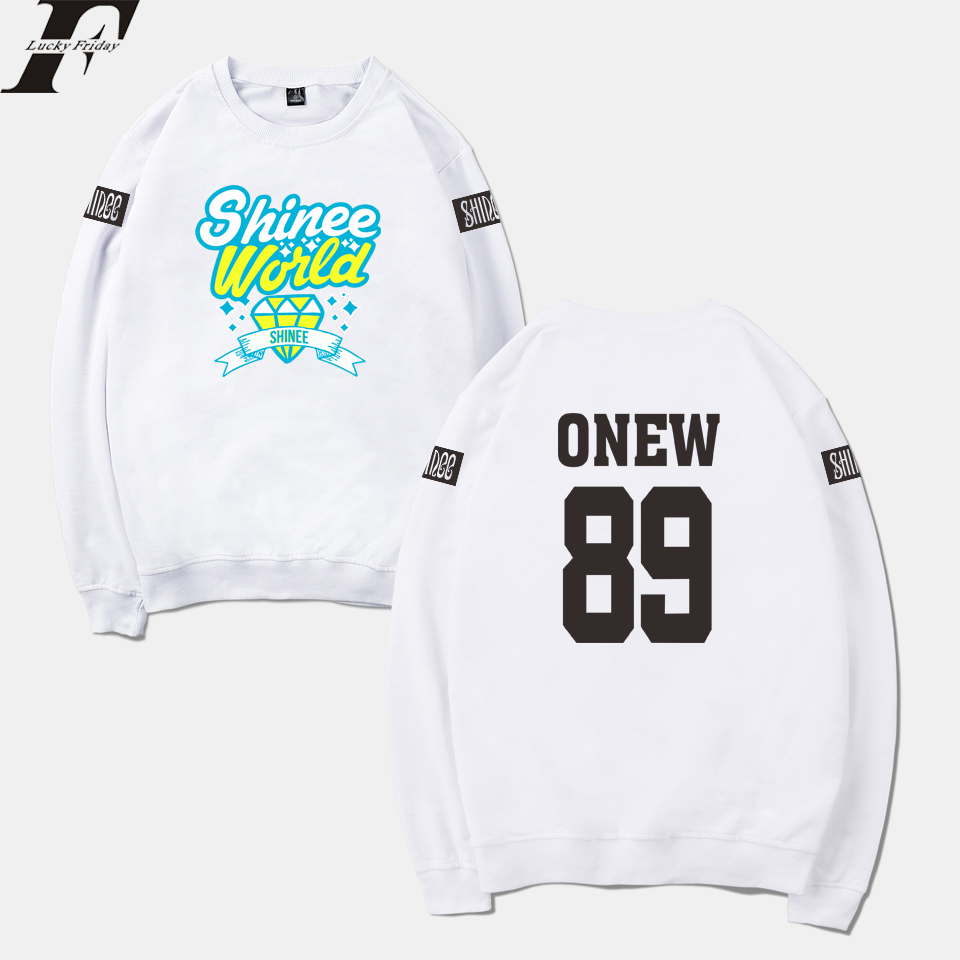 2018 harajuku SHINee Jonghyun R.I.P. Kpop oversized Hoodie Sweatshirt Women/Men tracksuit Mulheres moletom clothes for women