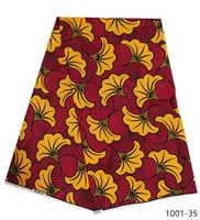 Mode africain nigérian ankara mauritanie cire imprimé coton tissu 100% Polyester doux régulier véritable cire pour les femmes