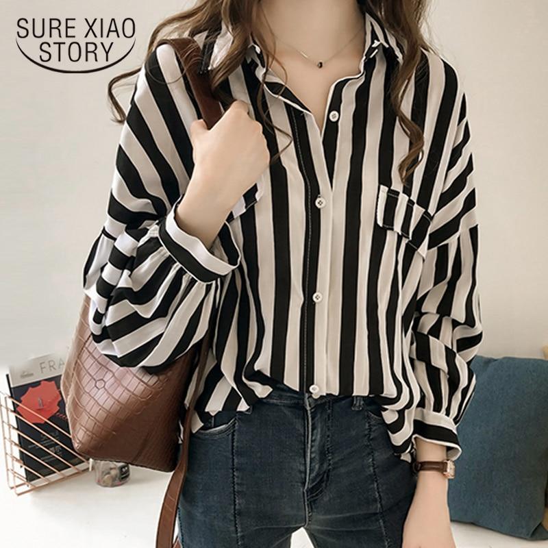 plus size women   blouse     shirt   womens tops and   blouses   fashion elegant   blouse   women striped   shirt   long sleeve women   shirts   1728 50