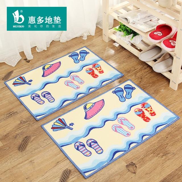2016 Ultra Thin Bath Mat For Bathroom Carpet Door Mats Doormat Waste Absorbing Floor