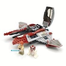 Bela Compatible Legoe giftss Звездные войны Обиванский перехватчик джедаев 220шт Micro Building Blocks Кирпичи Игрушки Фигуры