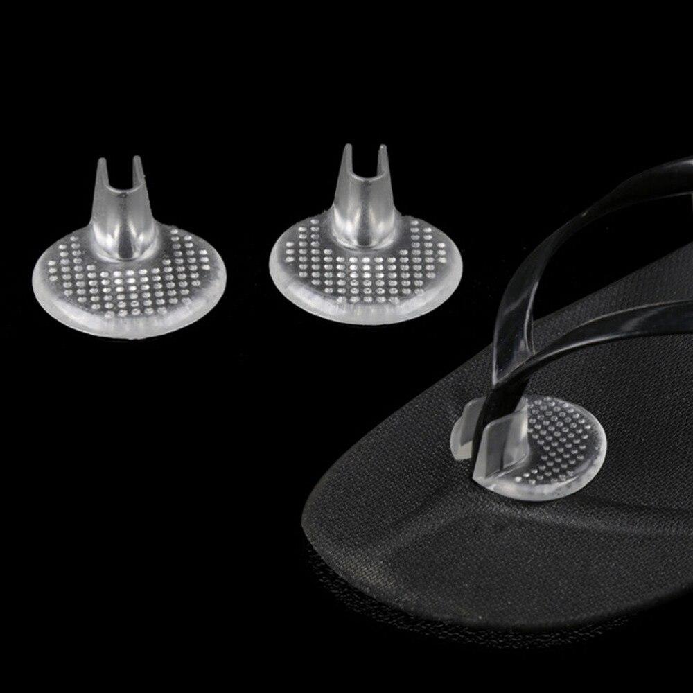 1 Paia Di Massaggio Del Sottopiede Trasparente Gel Scarpe Inserti Scarpa-pad Cuscino Flip Flop Sandali Toe Separator Fabbriche E Miniere