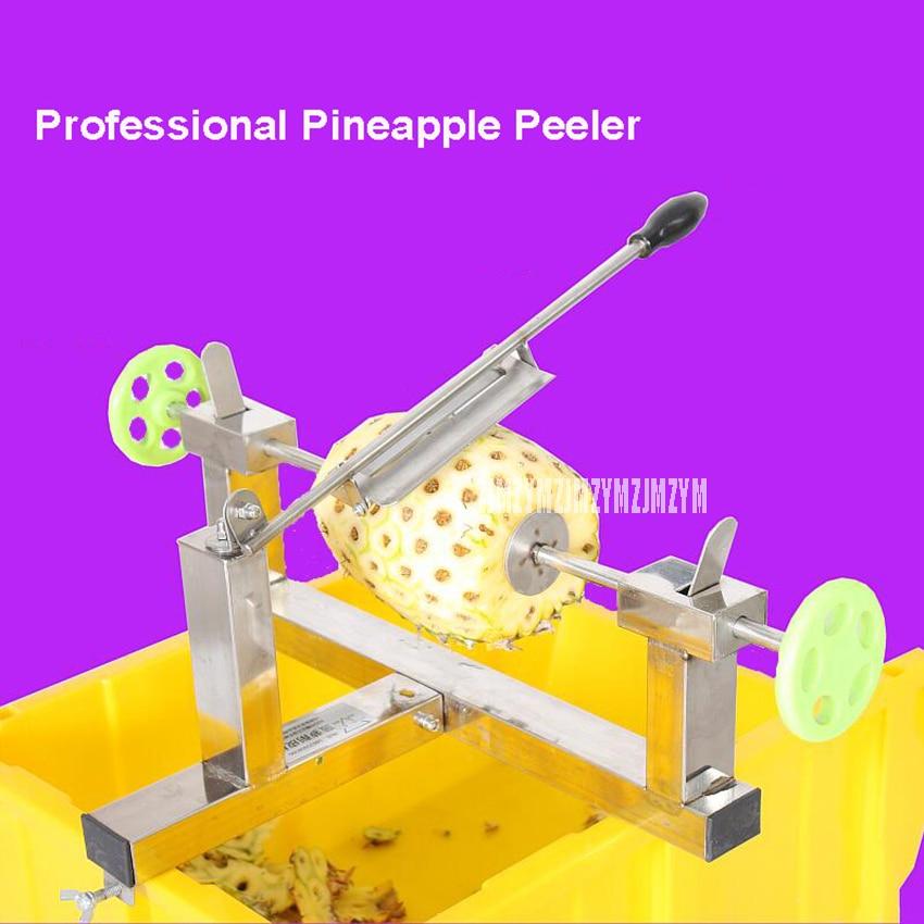 Commercial Stainless Steel Manual Pineapple Peeler Machine Professional Pineapple Peeling Machine Food ProcessorsCommercial Stainless Steel Manual Pineapple Peeler Machine Professional Pineapple Peeling Machine Food Processors