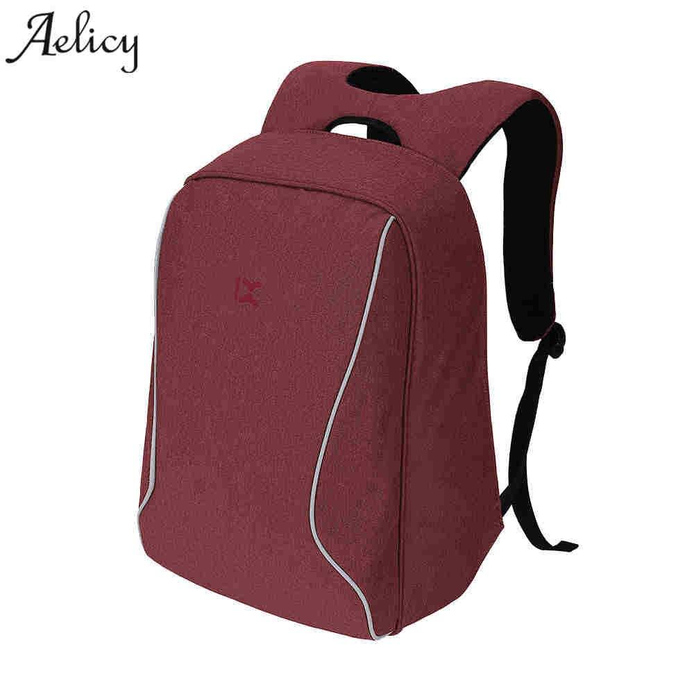 Aelicy Shockproof Laptop Backpack Waterproof Men Women Computer Notebook Bag 15.6 inch School backpack women travel bag
