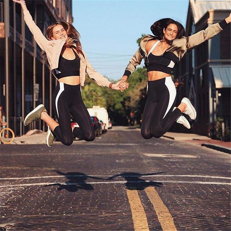 HTB1110rRFXXXXbhXXXXq6xXFXXXP - Women's Training Outfit - High Quality Top and Leggings - Quick Dry, For all Sports