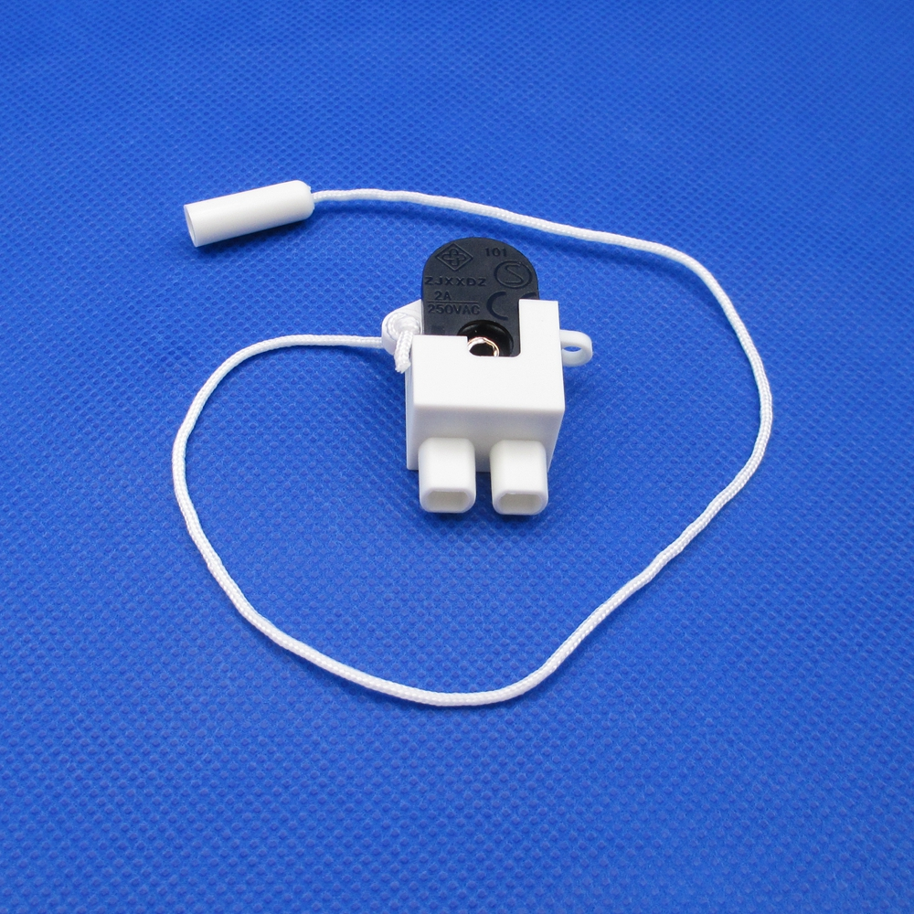 Side Action Pull Cord Switch,2A Miniature Cupboard Wall light Table Lamp Fitting