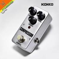 2016 New KOKKO Compressor Guitar Effect Pedal Compressor Guitar Effect Stompbox Large Dynamic Output True Bypass