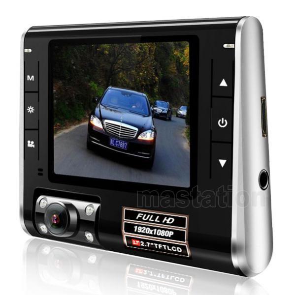 "NEW 2.7"" TFT LCD Vehicle DVR HD 1080P Car Video Dash Recorder Camera G-sensor K8000 FREE SHIPPING"