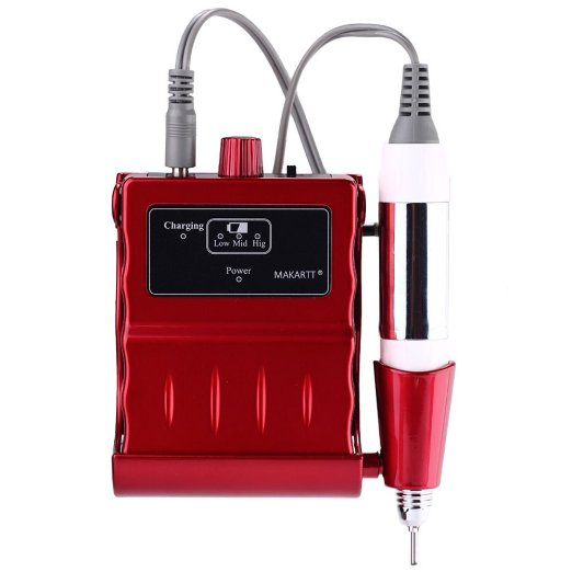 30000 RPM Rechargeable Nail Drill Machine Portable Electric Manicure Pedicure Tools Kit Set pro powerful 25000rpm electric nail drill pedicure manicure machine set with pedal