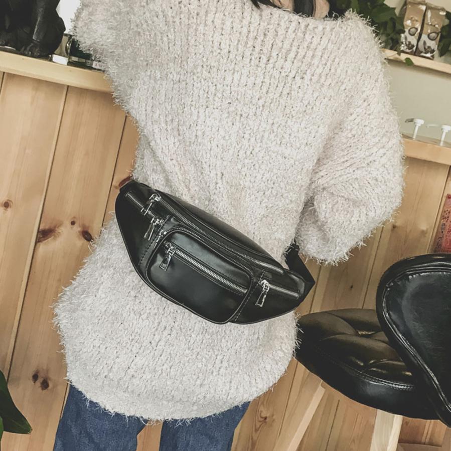 Molave Талия пакеты унисекс кожа Crossbody Мода цепи груди мешок высокой емкости плеча Талия пакеты Малый AP16