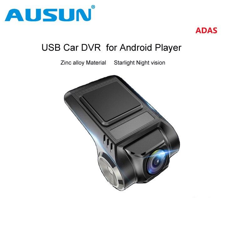 USB автомобильный dvr камера для автомобиля центральной консоли плеер Android 4,2 4,4 5.1.1 6,0 Автомобиль Мини Скрытая Вождение видео регистраторы W/ADAS