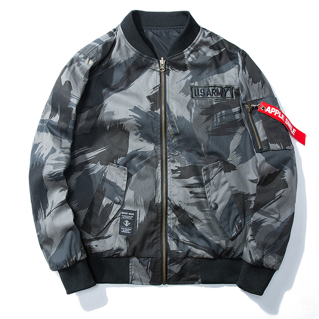 Alonso Military Bomber Jacket For Men