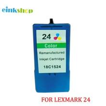 einkshop 1pcs For Lexmark 24 Color Ink Cartridge for X3530 X3550 X4550 X4530 Z1420 lexmark ink cartridge