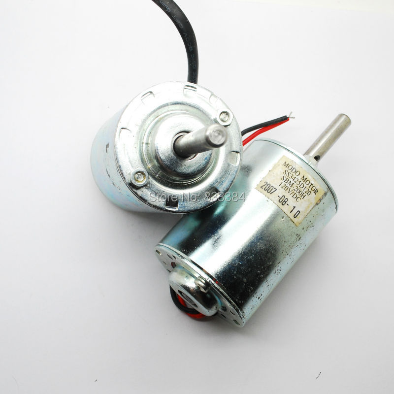 2PCS 65W 120V DC power DC motor generator for wind turbines 3000rpm 150V free shipping image