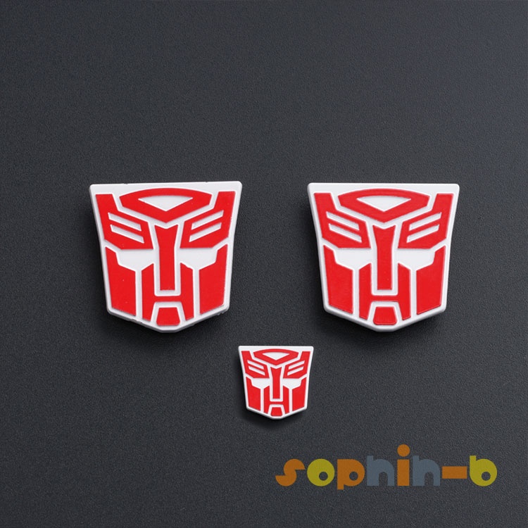 METAL AUTOBOT Logo STICKERS FOR MP10 Optimus Prime