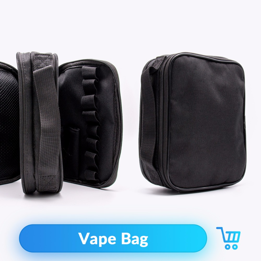Quartz Banger Portable Vape Pocket Vapor Case for RTA RDA Atomizer Mod Eletronic Cigarettte Vape Tool Kit Hookah Carrying Bag