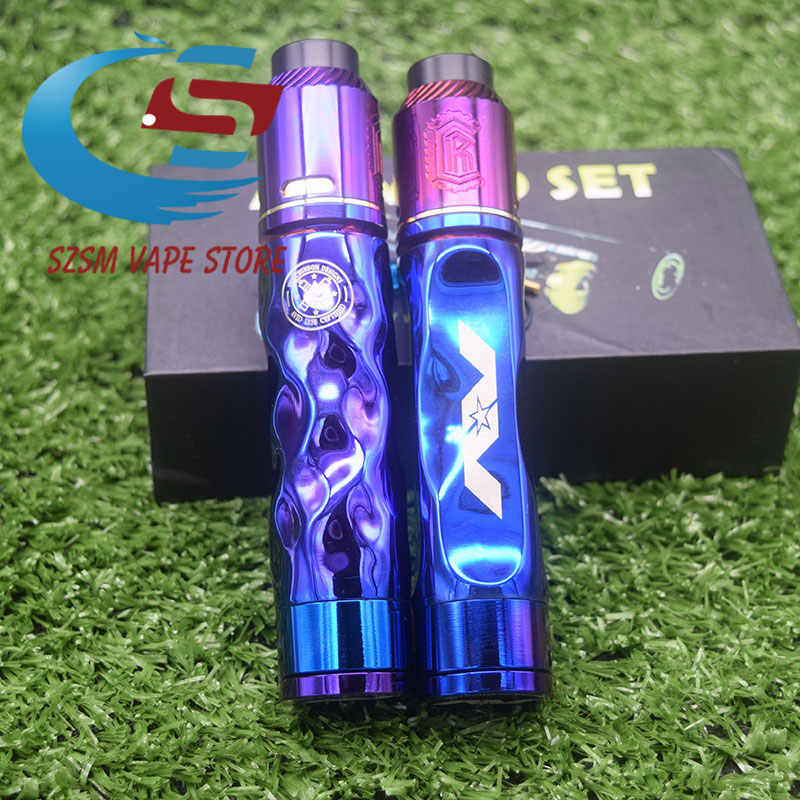 AvidLyfe Complyfe Mod KIT Material brass 24MM Mechanical Mod 18650 Battery 510 thread E Cigarette Vape Mod vs rogue mod kit