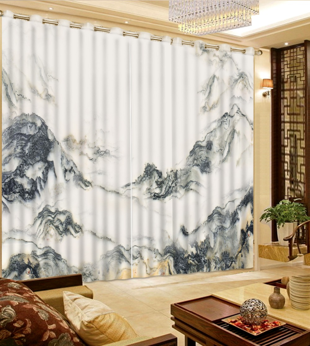 3d curtains bedroom curtain patterns custom curtains Black ...