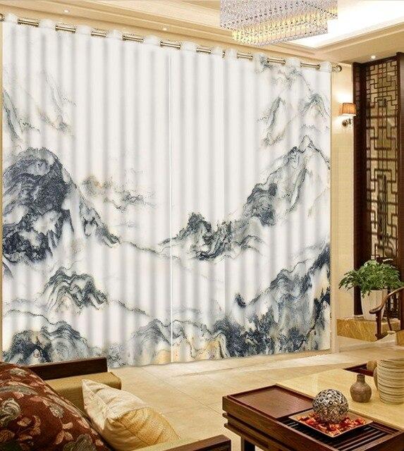 3d rideaux chambre modèles de rideau rideaux sur mesure Noir et ...