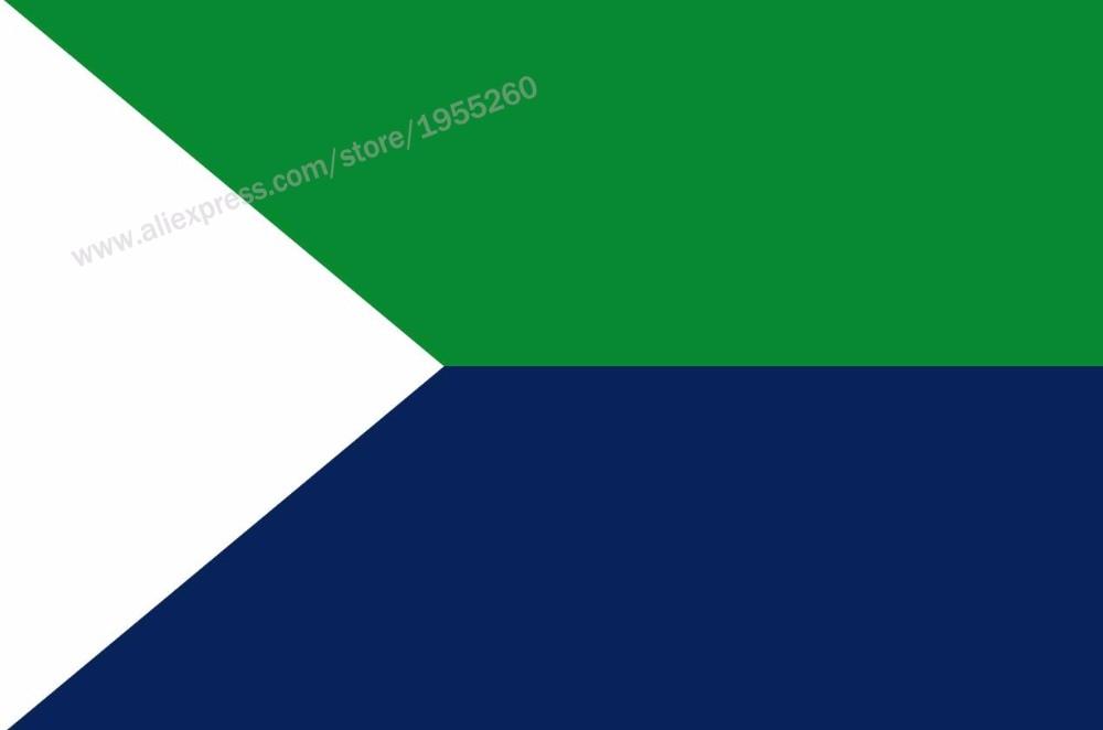 Bandera de El Hierro canario 3x5 pies 90x150 cm banderas de España Banners