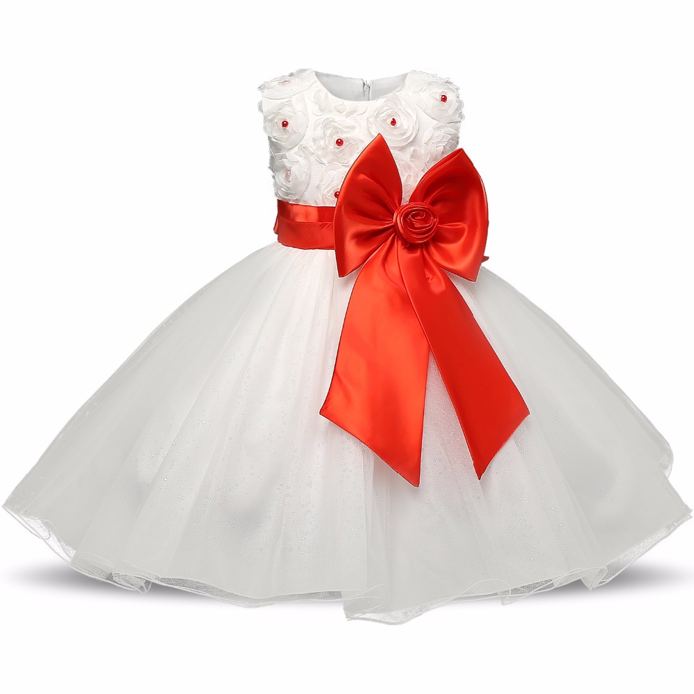 RBVH Baby Girl Events Party Designs Dress Fluffy Flower Girl Wedding ...