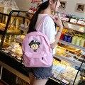 Япония и Южная Корея Maruko случайные холст мультфильм мешок печати рюкзак студенток
