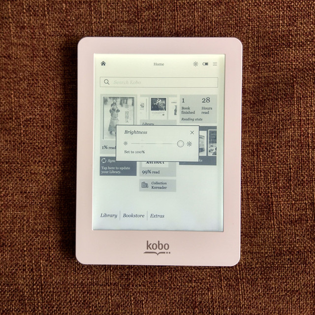 White Built In Light Original Kobo Glo E Book Reader Ink 6 Inch 1024x768 Wifi Touch Screen 2gb Ereader Not Hd Ebook From Consumer