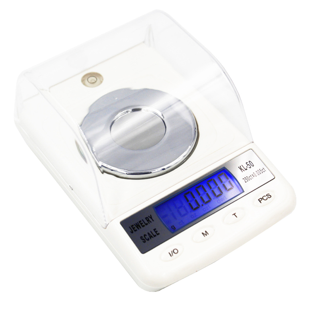 b22772b98952 10pcs BY DHL / Fedex High Precision 50g 0.001g Digital Scales Counting  Function Electronic Jewelry Diamond Gem Carat-in Weighing Scales from Tools  on ...