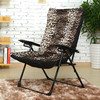 Fashion Leisure Folding Chair With Adjustable Chair And Lazy Computer Chair Living Room Balcony Garden Moon