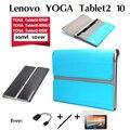 Para lenovo yoga tablet 2 funda tablet2 1050-f/lc 10.1 pulgadas tableta conjunto de tanque dedicado paquete tablet2-1051f funda