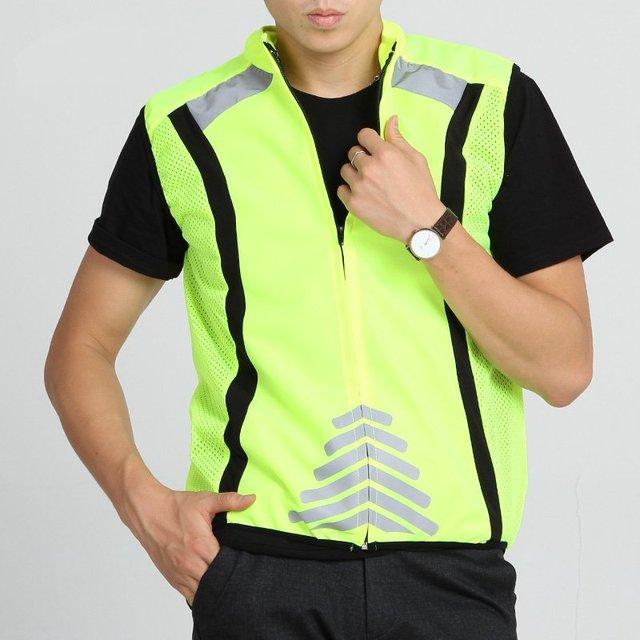 Bicycle Reflective Safety Clothing jersey vest vest sports motorcycle safety vest