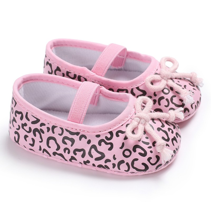 First Walkers Baby Spring Girls Bowknot Princess Toddler Shoes Autumn First Walkers Lovely Pu Shoes