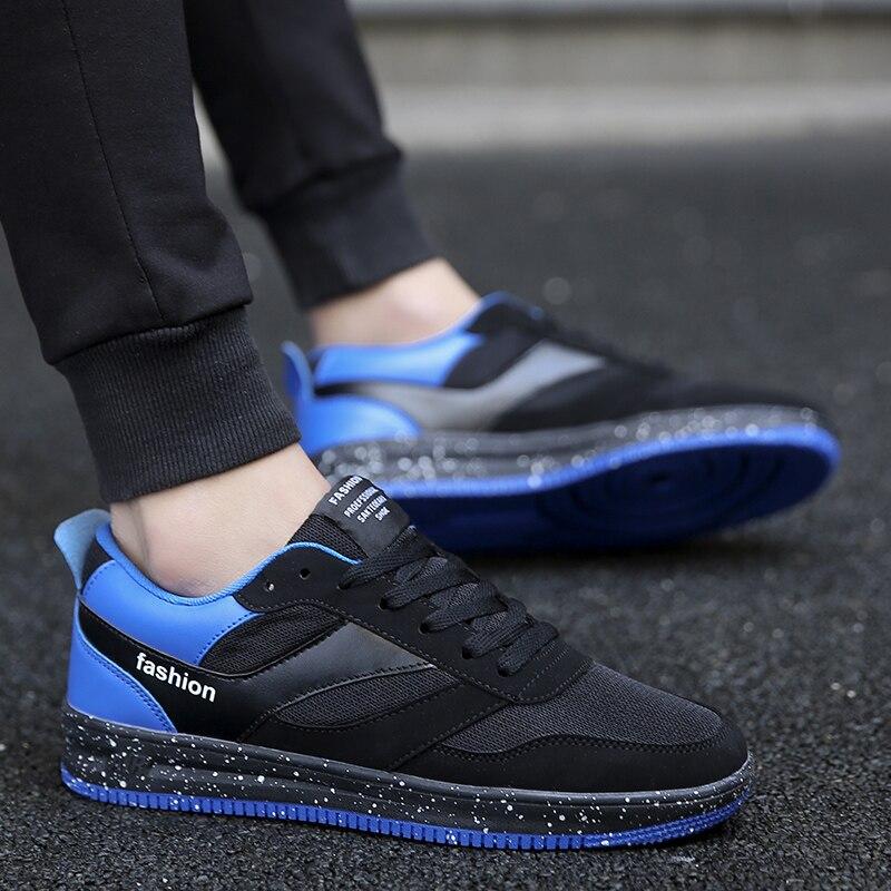 2018 nouveau hommes casual chaussures Marée De Mode confortable respirant maille hommes chaussures de haute qualité